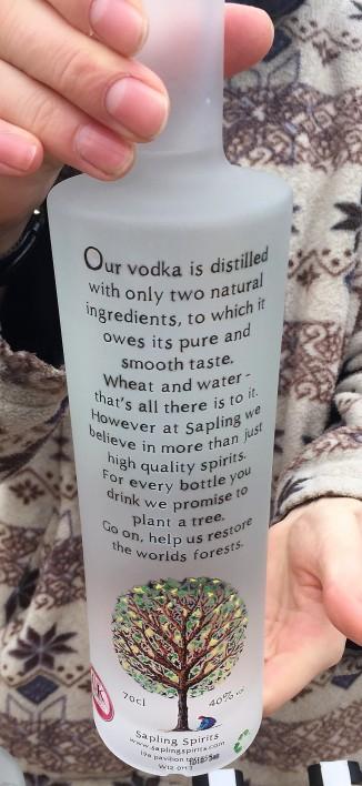 Sapling Spirit's Vodka
